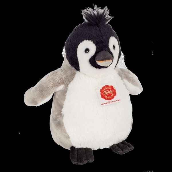 Peluche Pingouin 21 cm hermann teddy collection -90018 4