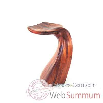 Tabouret de bar queue de baleine en resineux 77 cm Lasterne -MQU077-R