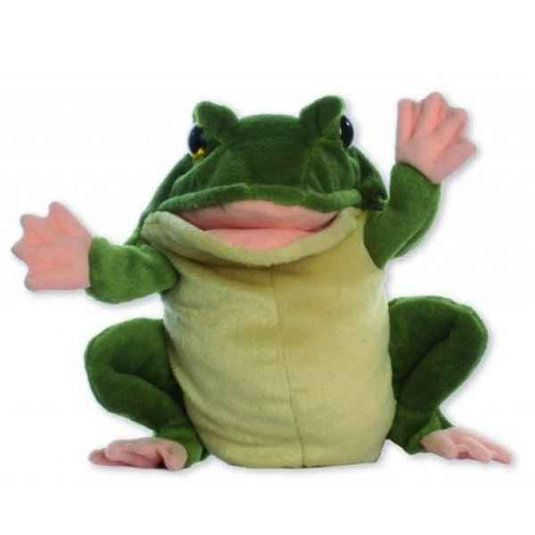 Video Marionnette peluche a main - Grenouille-24018