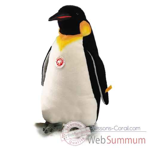 Video Peluche Steiff Pingouin royal studio debout-504990