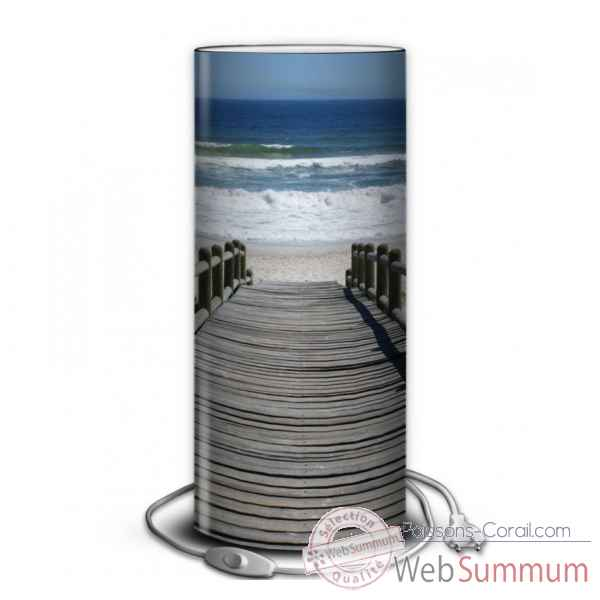 Lampe collection marine ponton vers la mer -MA1209