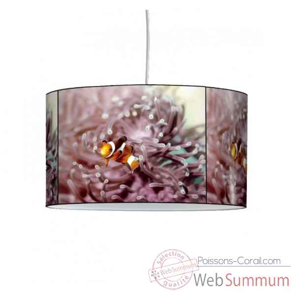 Lampe suspension faune marine poisson clown -FM1218SUS