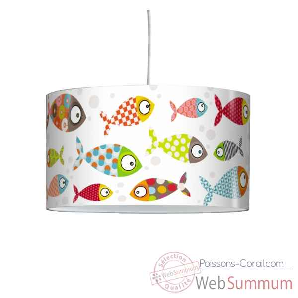 Lampe suspension serie golo poissons -SG1709SUS