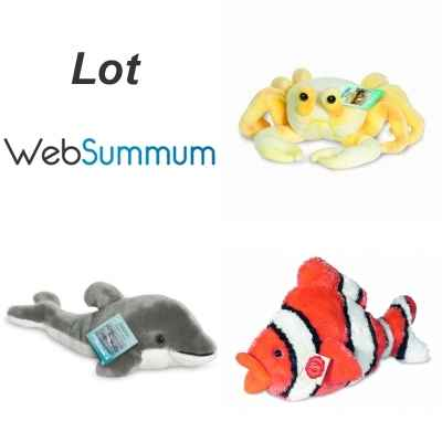 Promotion Peluche animaux marins Hermann -LWS-40